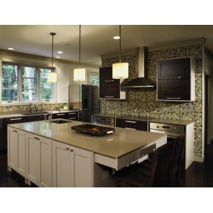 Monterey kitchen, Omega Cabinetry