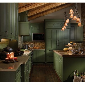 Mountain Retreat kitchen, Wood-Mode