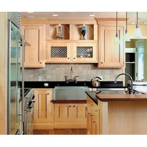 Natural kitchen by Quality Custom Cabinetry