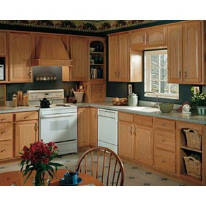 Oak Comfort kitchen, Aristokraft