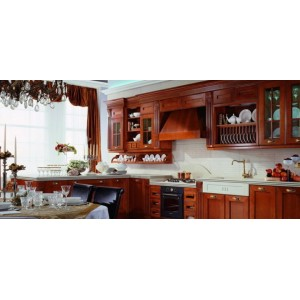Opera cherry kitchen, Aster Cucine