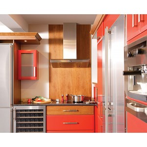 Seale red lacquer kitchen cabinet china kitchen cabinet mdf