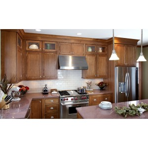 Pendleton Inset kitchen by Showplace Wood