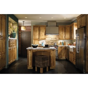 Rustic Birch kitchen, Aristokraft