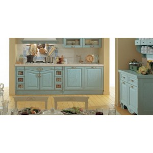 Sintonia Patinato kitchen, Aster Cucine