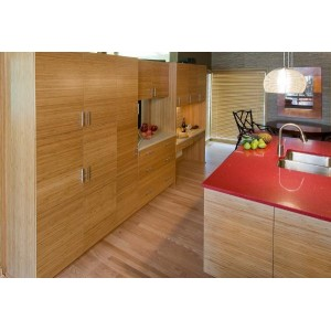 Tall Storage in Bamboo kitchen, Mouser