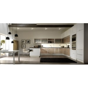 Timeline Lacquer kitchen, Aster Cucine