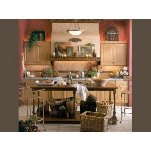 Tuscan kitchen, Wood-Mode