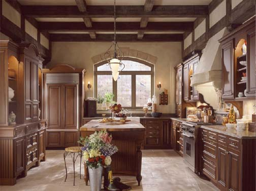 British Classics Kitchen, Wood Mode. British Classics
