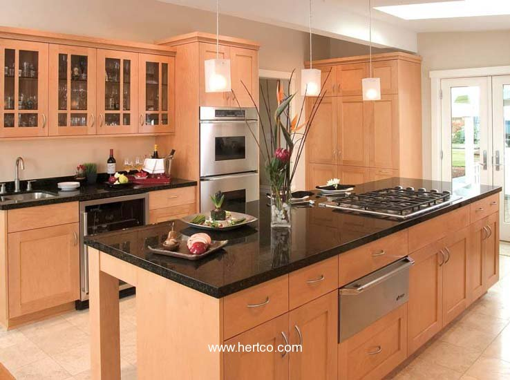Hertco usa kitchens and baths manufacturer for Extravagant kitchen designs