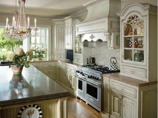 Country Cabinets Kitchen Related Pictures French Country Kitchens