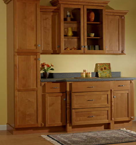 Bon Jamestown Kitchen, JSI Cabinetry. Jamestown