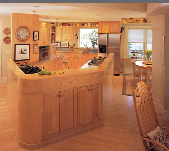 Littleton Kitchen, Omega Cabinetry. Littleton