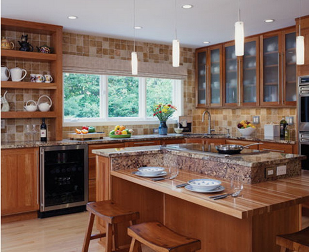Bertch usa kitchens and baths manufacturer for Kitchen design quincy ma
