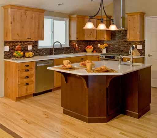 Colorado Knotty Alder Kitchen Cabinets: Kitchens And Baths Manufacturer