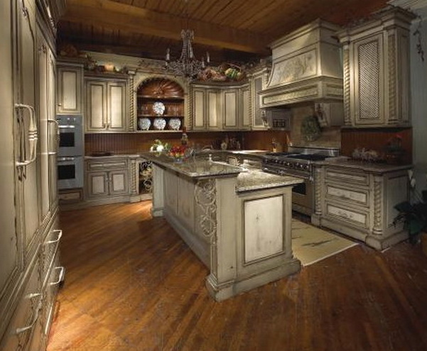 Habersham home usa kitchens and baths manufacturer for Tuscan kitchen designs photo gallery