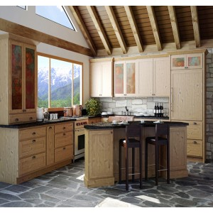 Arena kitchen, Jim Bishop Cabinets