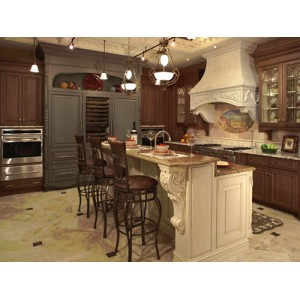 Classic kitchen, Ovation Cabinetry