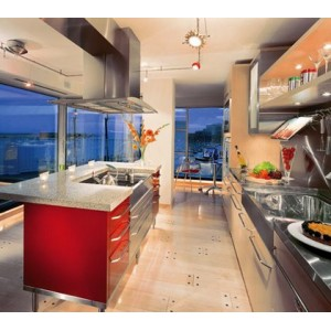 Extravagant kitchen by Neff