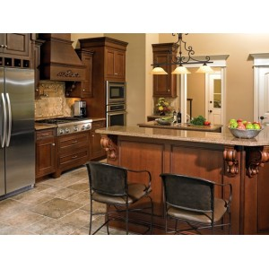 Gallery kitchen, Jim Bishop Cabinets