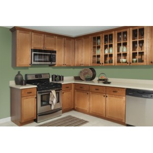 Georgetown Royal kitchen, Kountry Wood Products