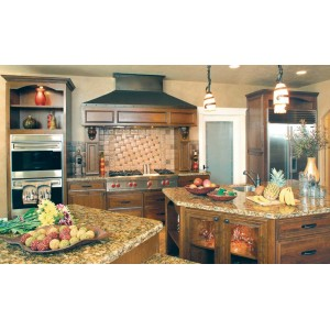New England Charm kitchen by Huntwood