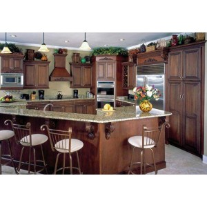 Romance kitchen, Jim Bishop Cabinets