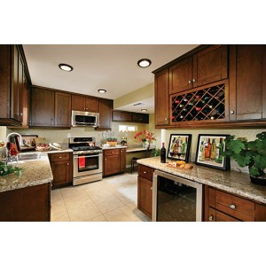 Shaker kitchen, RiverRun Cabinetry