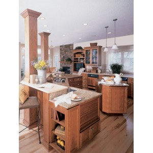 Spring kitchen, Ovation Cabinetry