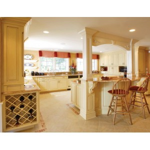 Traditional kitchen, Hampshire Cabinetry