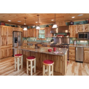 Transitional kitchen, Great Northern Cabinetry