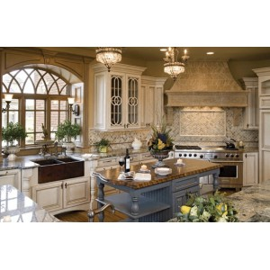 Transitional kitchen, Hampshire Cabinetry