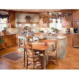 Transitional kitchen, Kountry Kraft