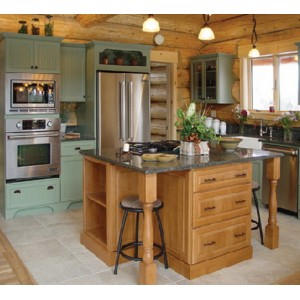 Tuscany kitchen, Great Northern Cabinetry