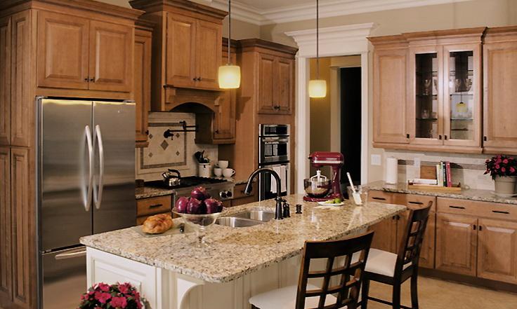 Charm Kitchen, 6 Square Cabinets