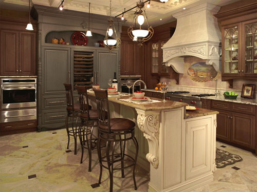 Charmant Classic Kitchen, Ovation Cabinetry. Classic