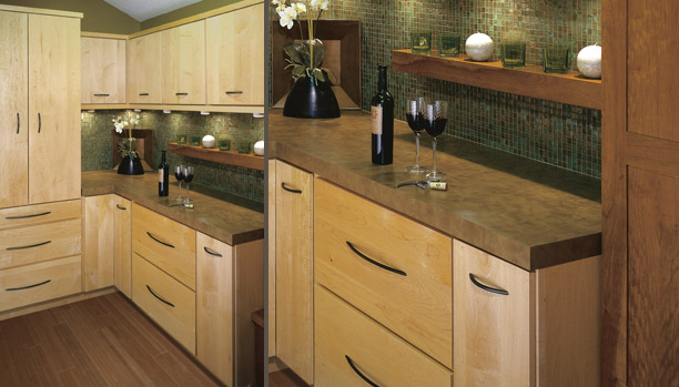 Natura Kitchen, Woodland Cabinetry. Natura