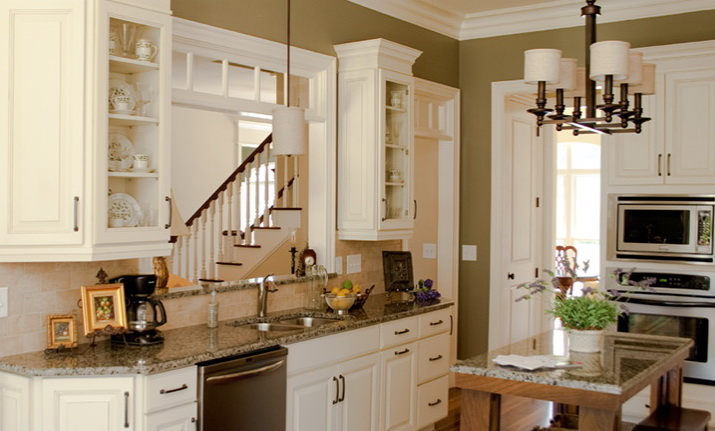 Delightful Special Kitchen, 6 Square Cabinets. Special