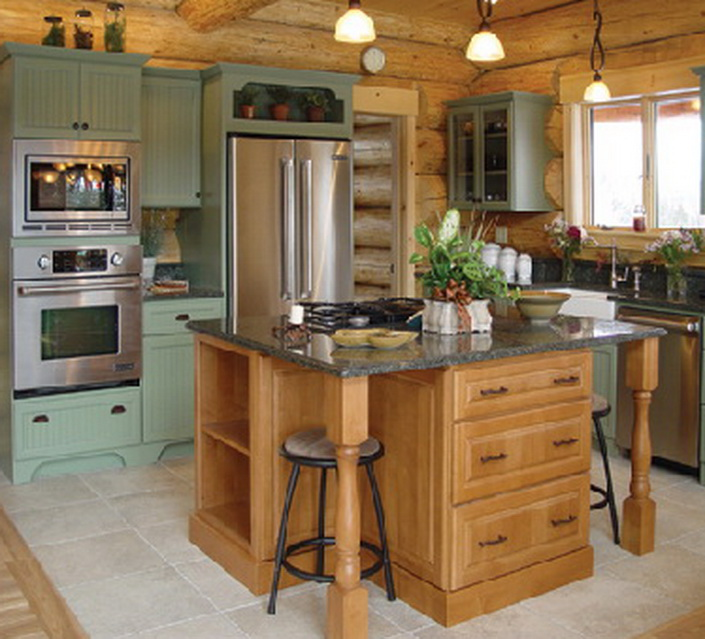 Bon Tuscany Kitchen, Great Northern Cabinetry. Tuscany