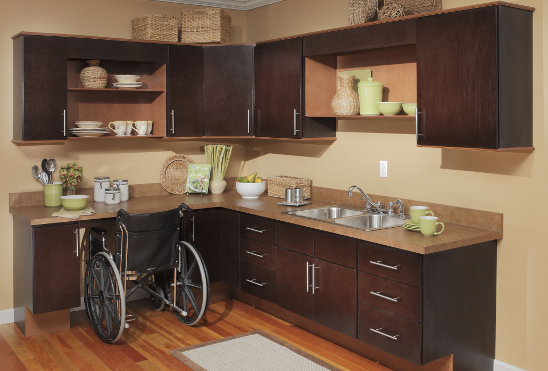 ada compliant kitchen cabinets kountry wood products usa kitchens and baths manufacturer 10445