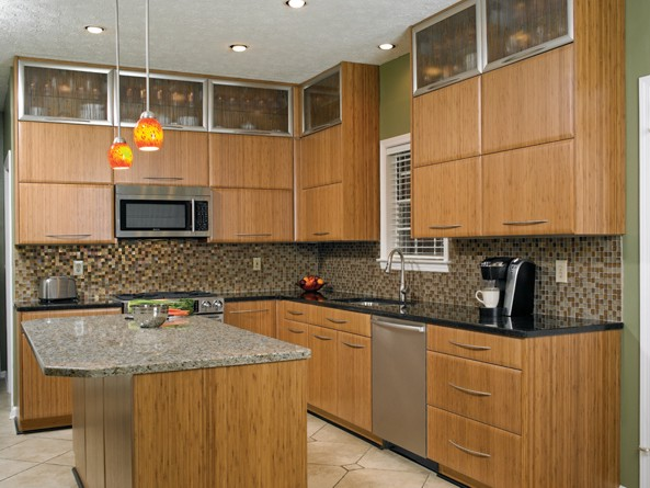 bamboo kitchen cabinets cost jim bishop cabinets usa kitchens and baths manufacturer 4300